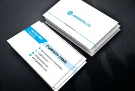 008 Surprising Staple Busines Card Template Word Image