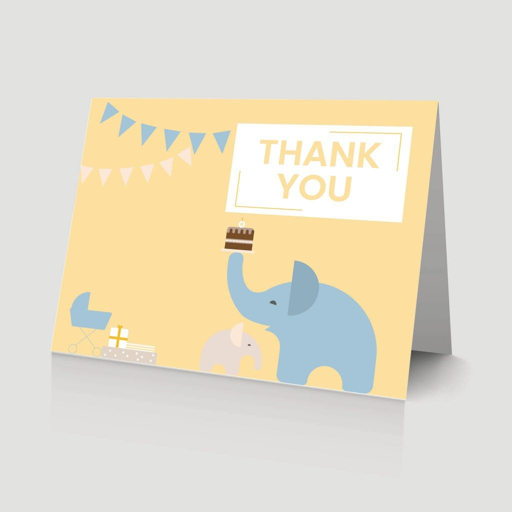 008 Surprising Thank You Card Wording For Baby Shower Group Gift Photo Large