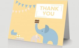 008 Surprising Thank You Card Wording For Baby Shower Group Gift Photo