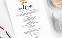 008 Surprising Wedding Welcome Letter Template Free High Def  Bag