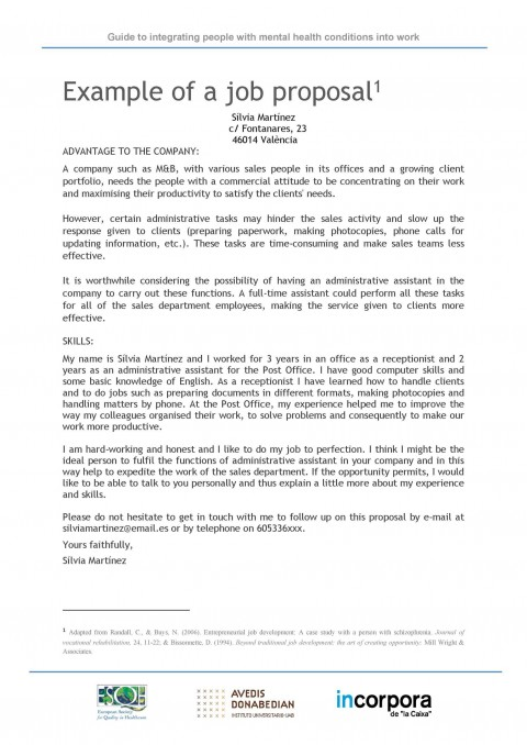 008 Surprising Writing A Job Proposal Template Sample High Definition 480