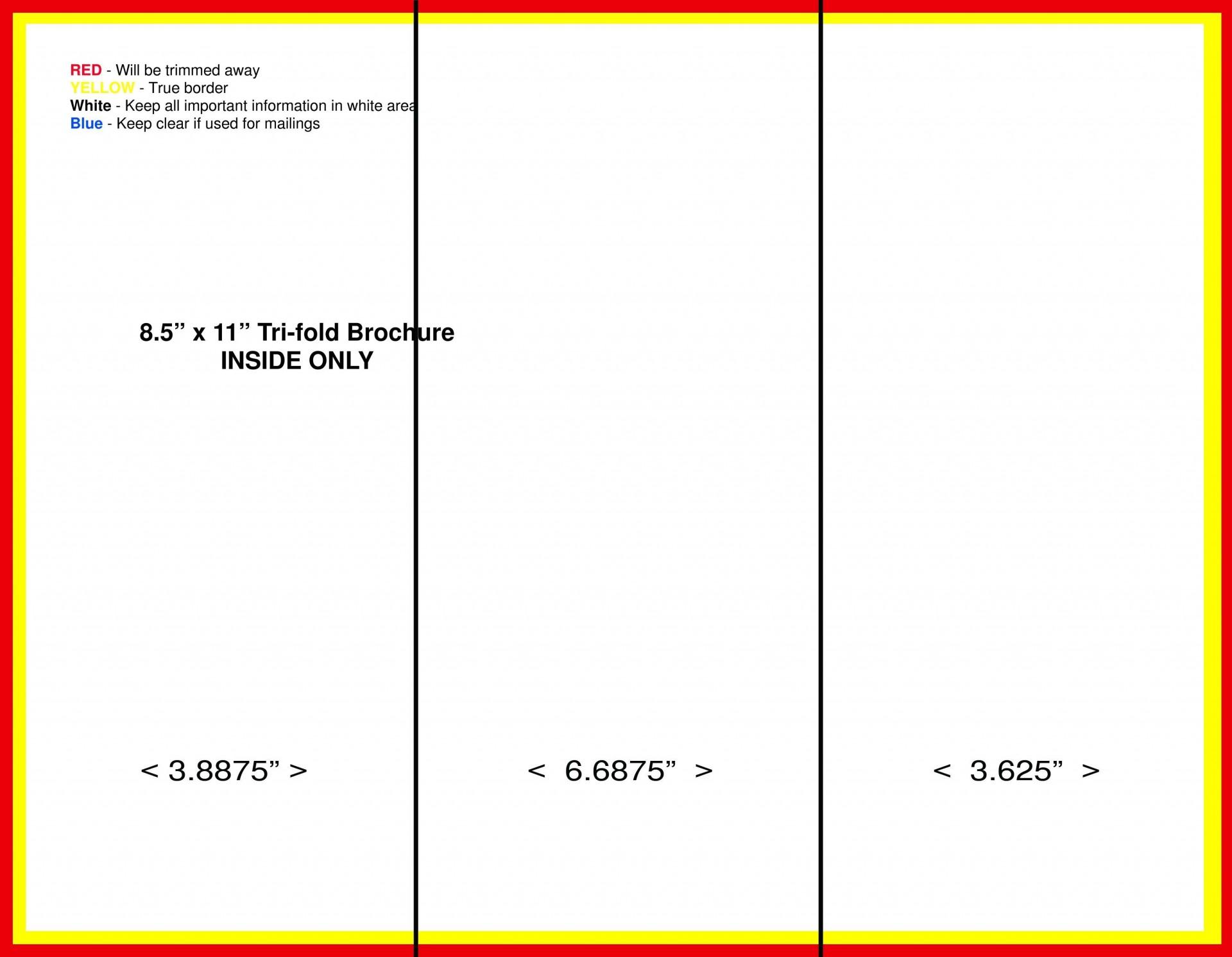 008 Top Brochure Template Google Doc High Definition  Layout Blank Tri Fold1920