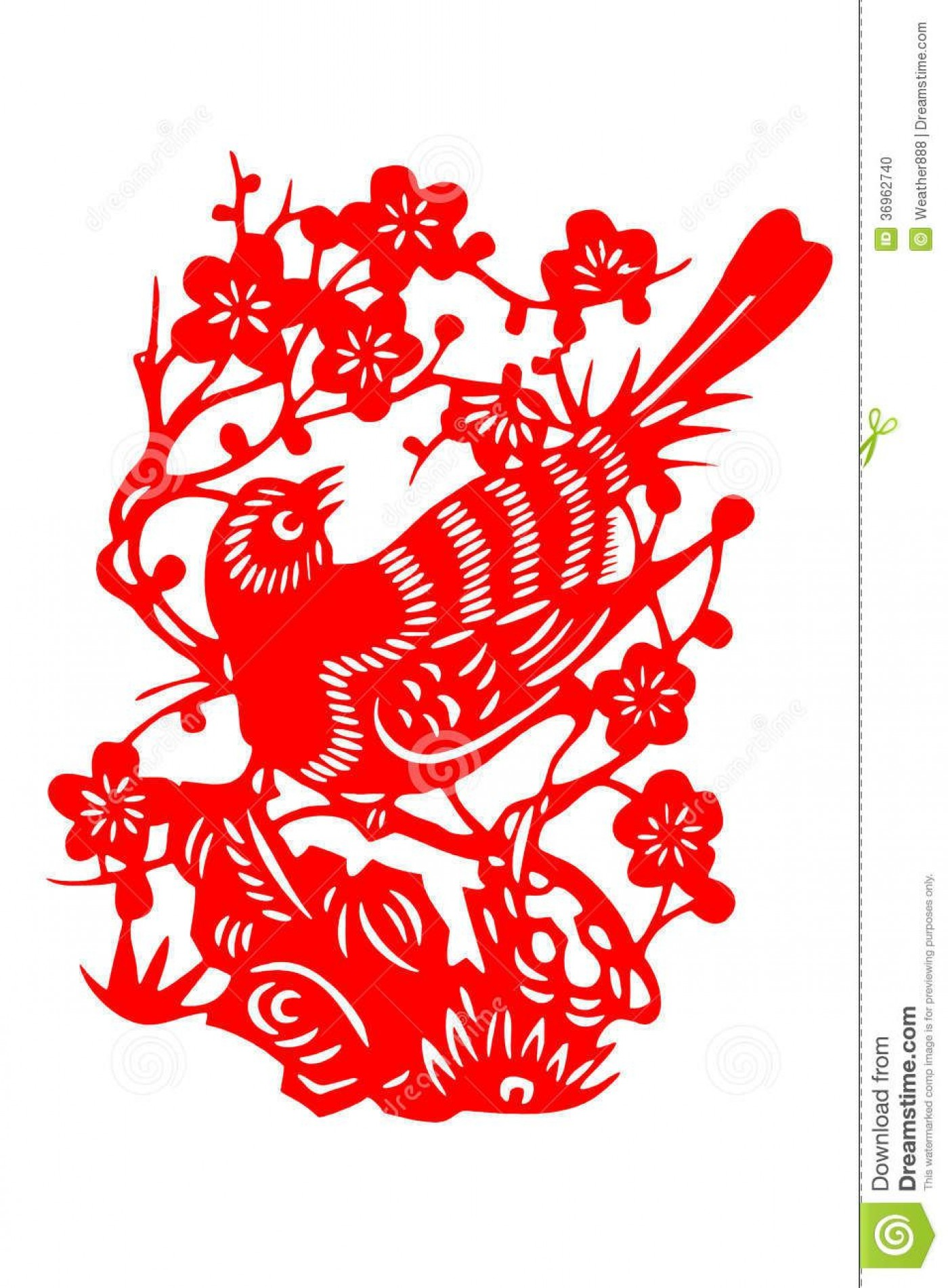 008 Top Chinese Paper Cut Template Concept 1400