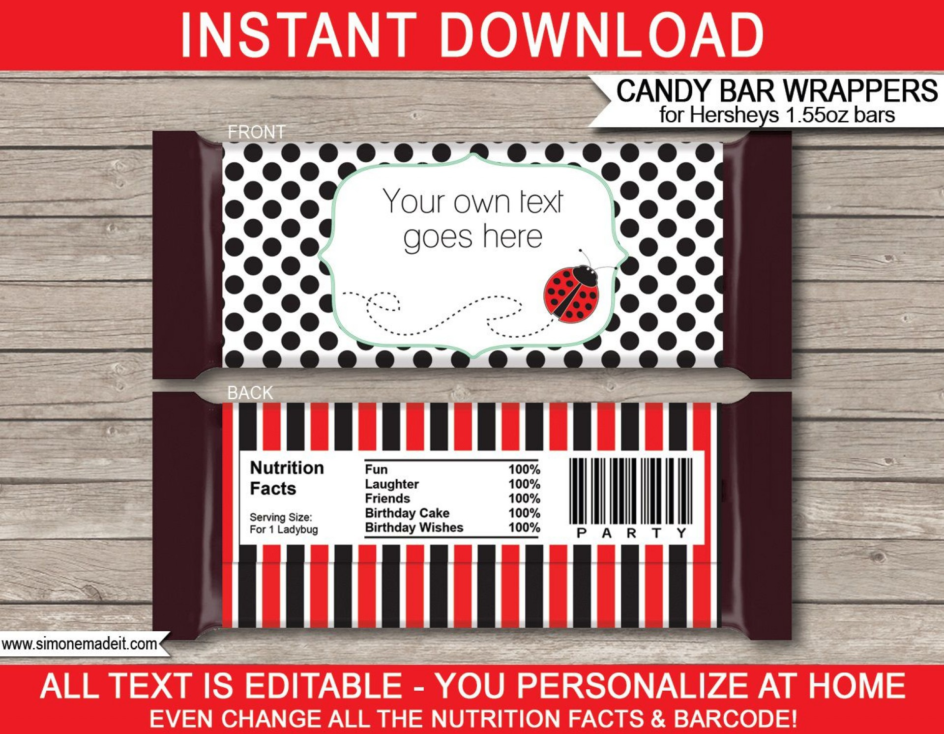 008 Top Chocolate Bar Wrapper Template Image  Candy Free Printable Mini Illustrator1920