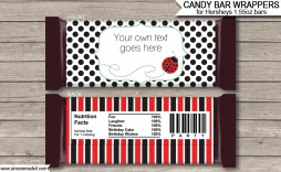 008 Top Chocolate Bar Wrapper Template Image  Candy Free Printable Mini Illustrator