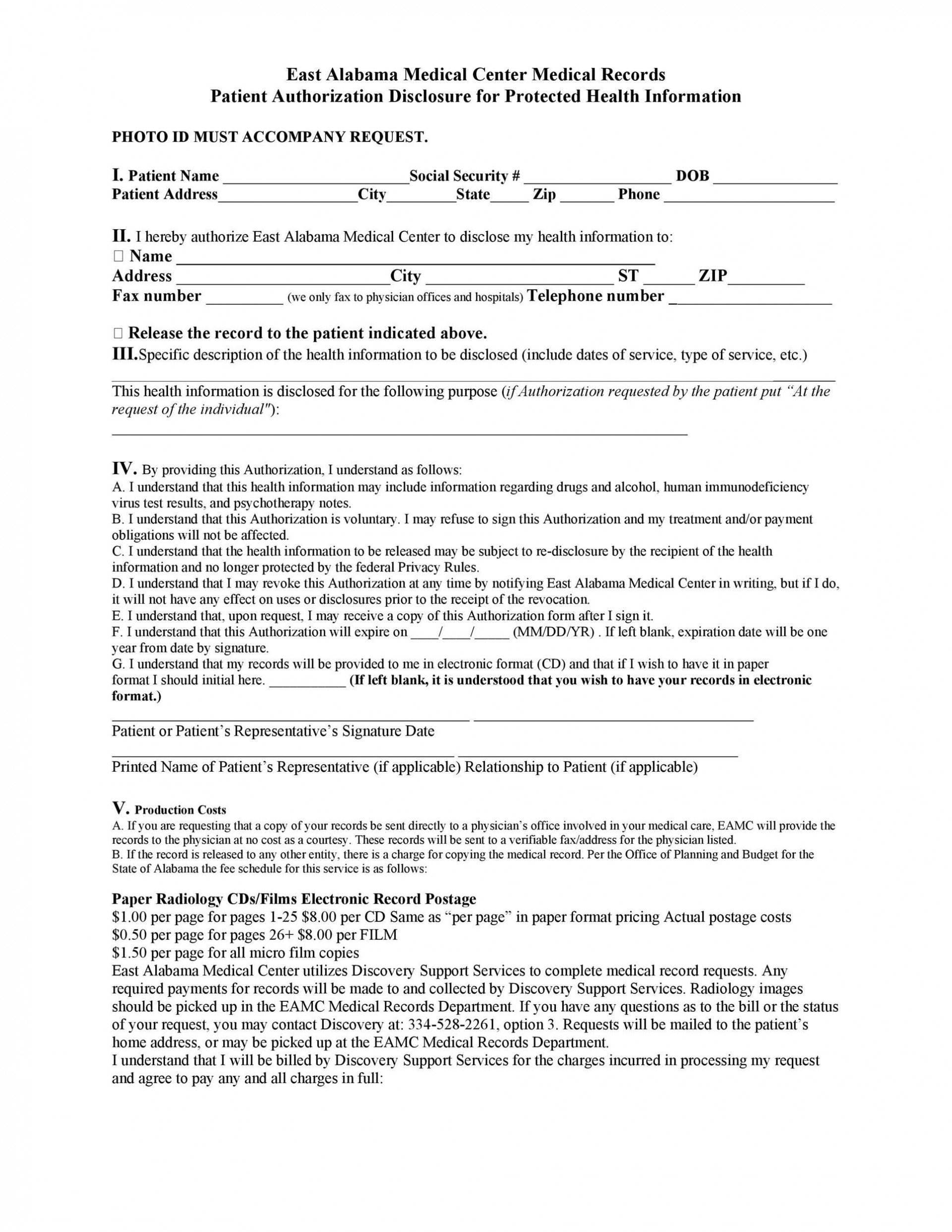 008 Top Free Hospital Discharge Form Template Concept 1920