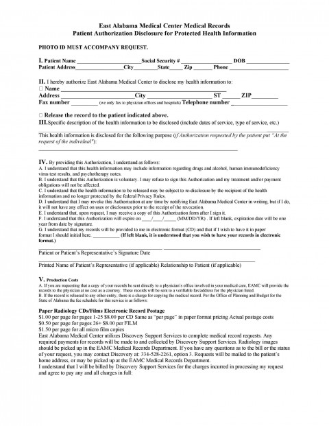 008 Top Free Hospital Discharge Form Template Concept 480
