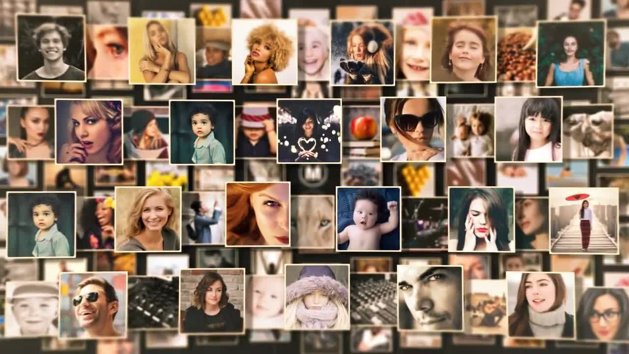 008 Top Free Photo Collage Template After Effect Inspiration  Effects DownloadFull