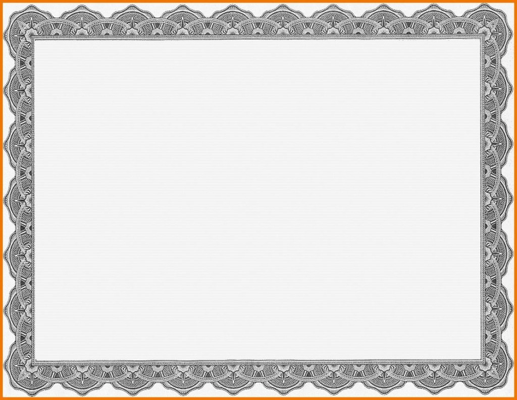 008 Top Free Printable Blank Certificate Template Picture  Templates Gift Of AchievementLarge