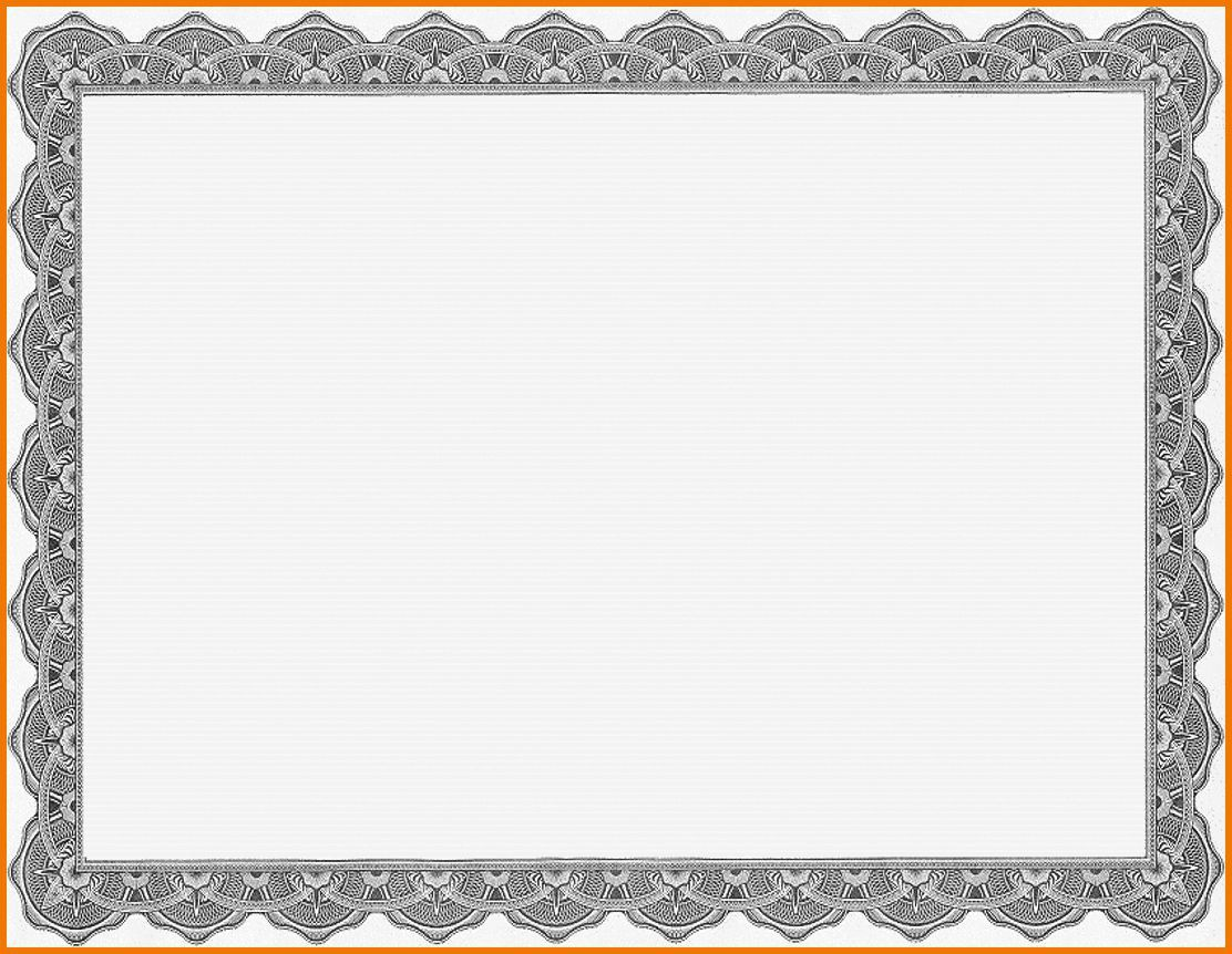 008 Top Free Printable Blank Certificate Template Picture  Templates Gift Of AchievementFull