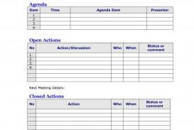 008 Top Meeting Agenda Template Word Image  Microsoft Board 2010 Example