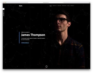 008 Top Personal Website Template Bootstrap Concept  4 Free Download Portfolio320