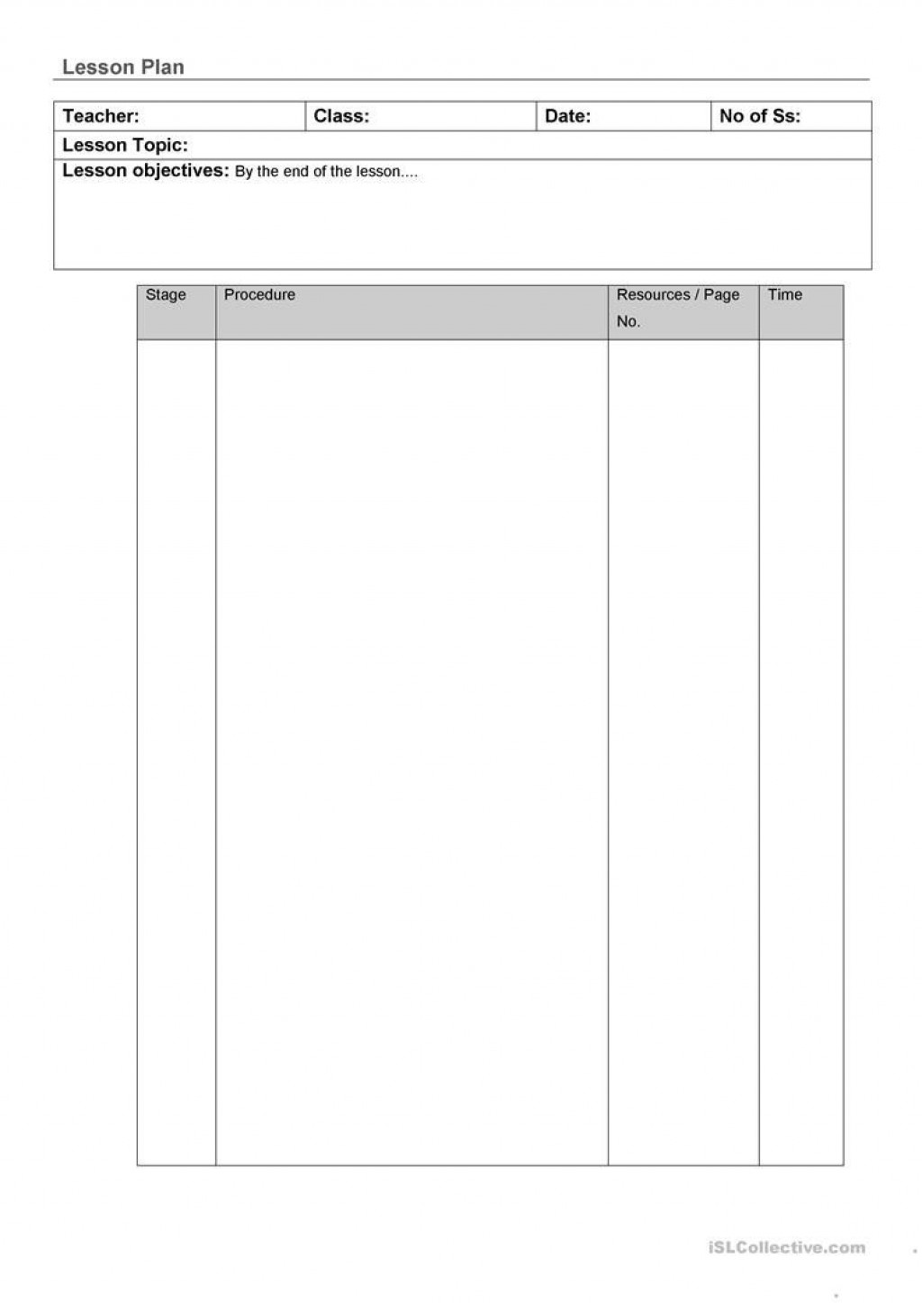 008 Top Physical Education Lesson Plan Template Highest Quality  Templates Free Elementary CortlandLarge
