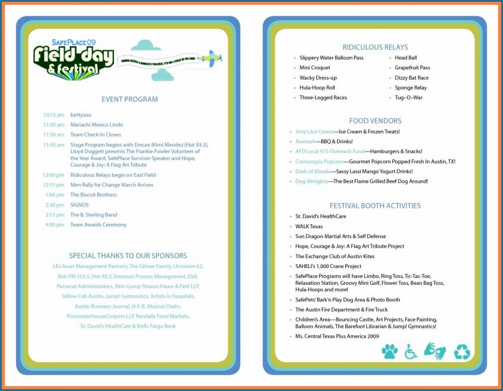 008 Top Printable Event Program Template Highest Clarity  Free DownloadLarge