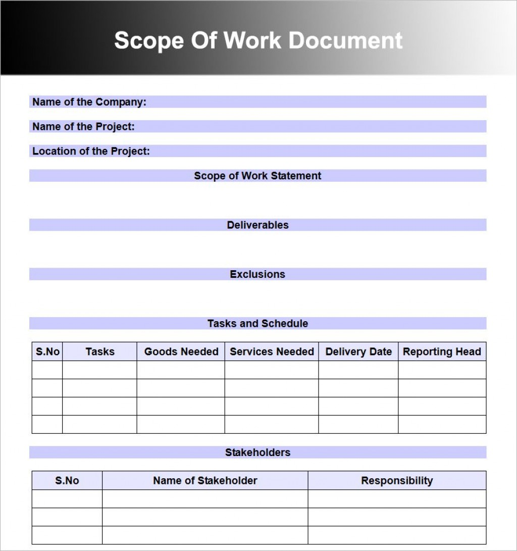 008 Top Scope Of Work Template Microsoft Word Picture Large