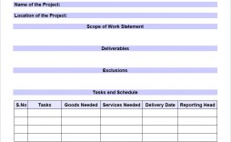 008 Top Scope Of Work Template Microsoft Word Picture