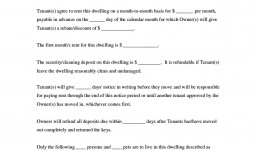 008 Top Simple Lease Agreement Template Sample  Rental Free South Africa Word Document Commercial