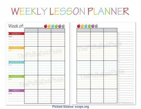 008 Top Weekly Lesson Plan Template High School Def  Free For Math Example History480