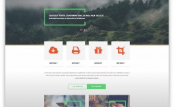 008 Unbelievable Adobe Muse Template Free Image  2019 Ecommerce Download Parallax