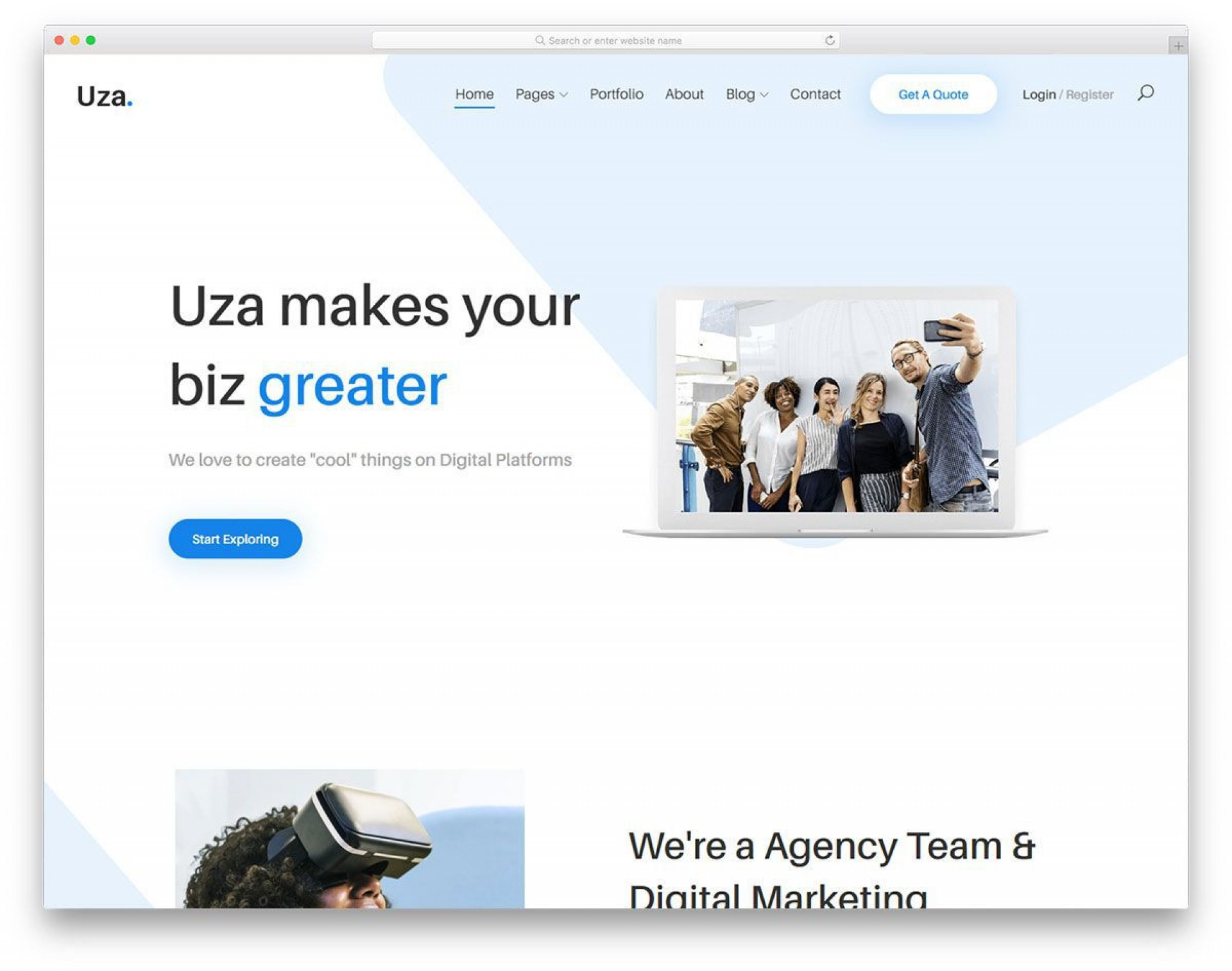 008 Unbelievable Free Busines Website Template Download Html And Cs Jquery High Resolution  Responsive For It Company1920