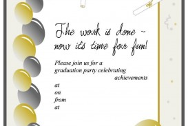008 Unbelievable Free Graduation Invitation Template Printable Image  Kindergarten Party Card