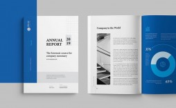 008 Unbelievable Free Indesign Annual Report Template Download Sample