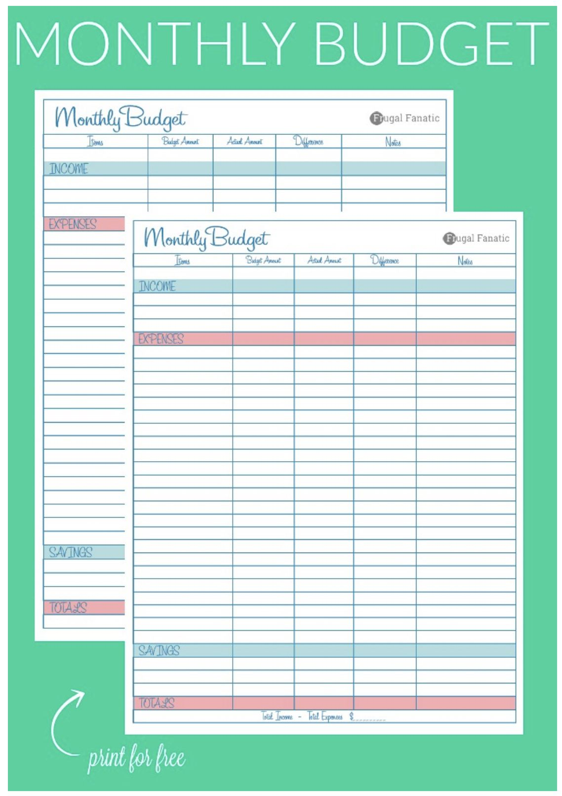008 Unbelievable Free Printable Blank Monthly Budget Sheet High Resolution  Sheets Worksheet TemplateFull