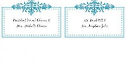 008 Unbelievable Free Printable Place Card Template Idea  Blank Wedding Christma Table