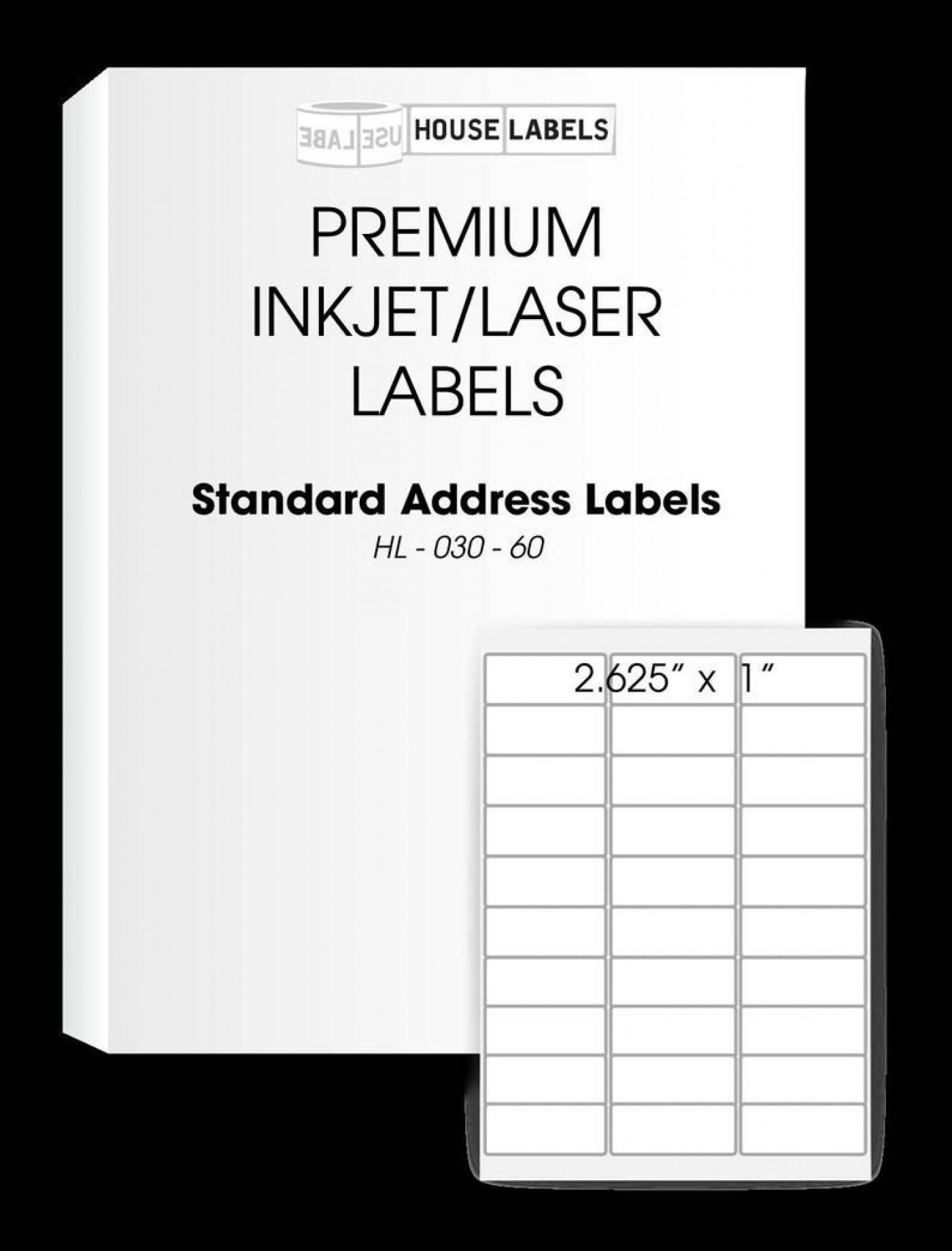 008 Unbelievable Free Return Addres Label Template 60 Per Sheet High Resolution 1400