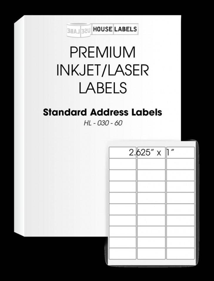 008 Unbelievable Free Return Addres Label Template 60 Per Sheet High Resolution 728