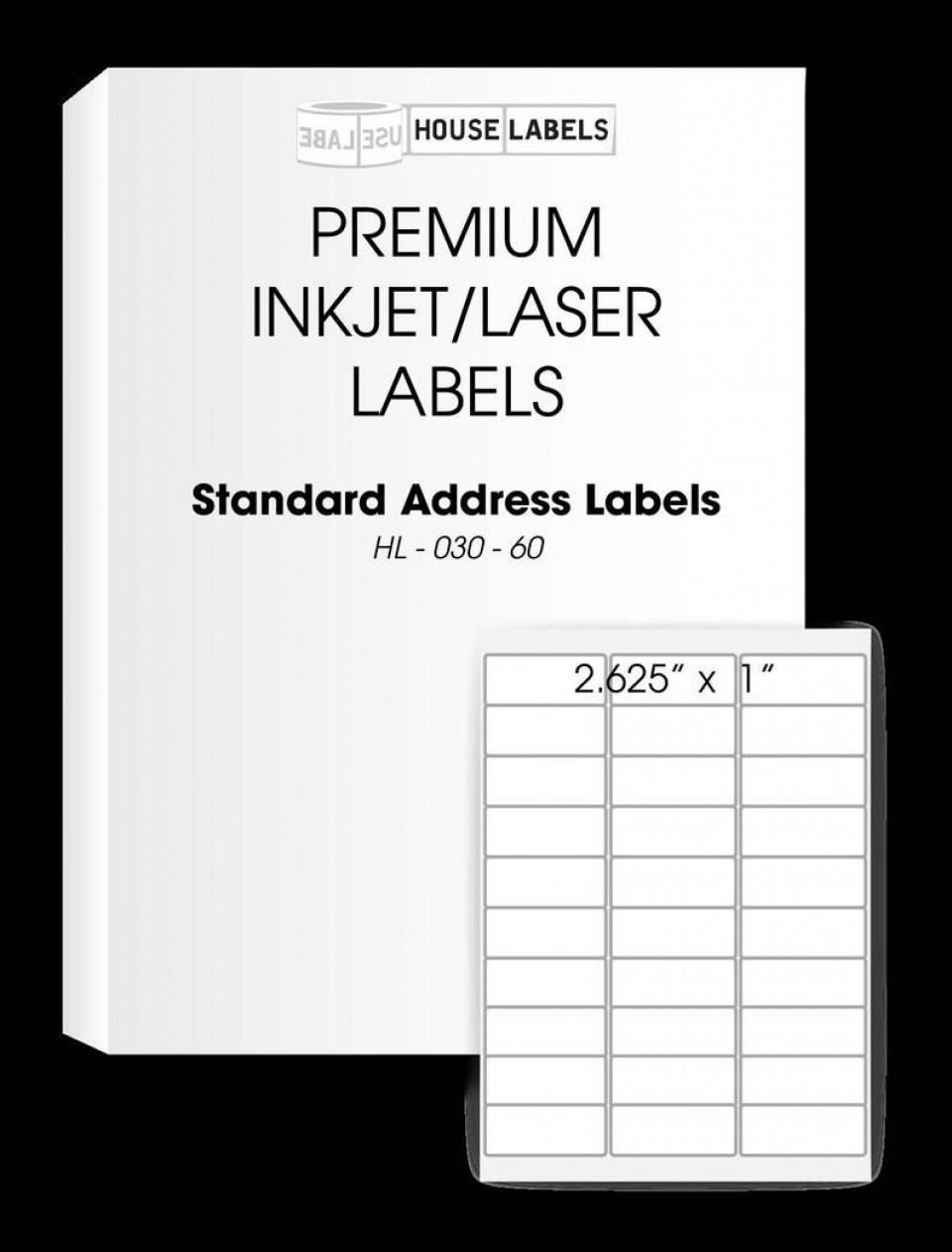 008 Unbelievable Free Return Addres Label Template 60 Per Sheet High Resolution 960