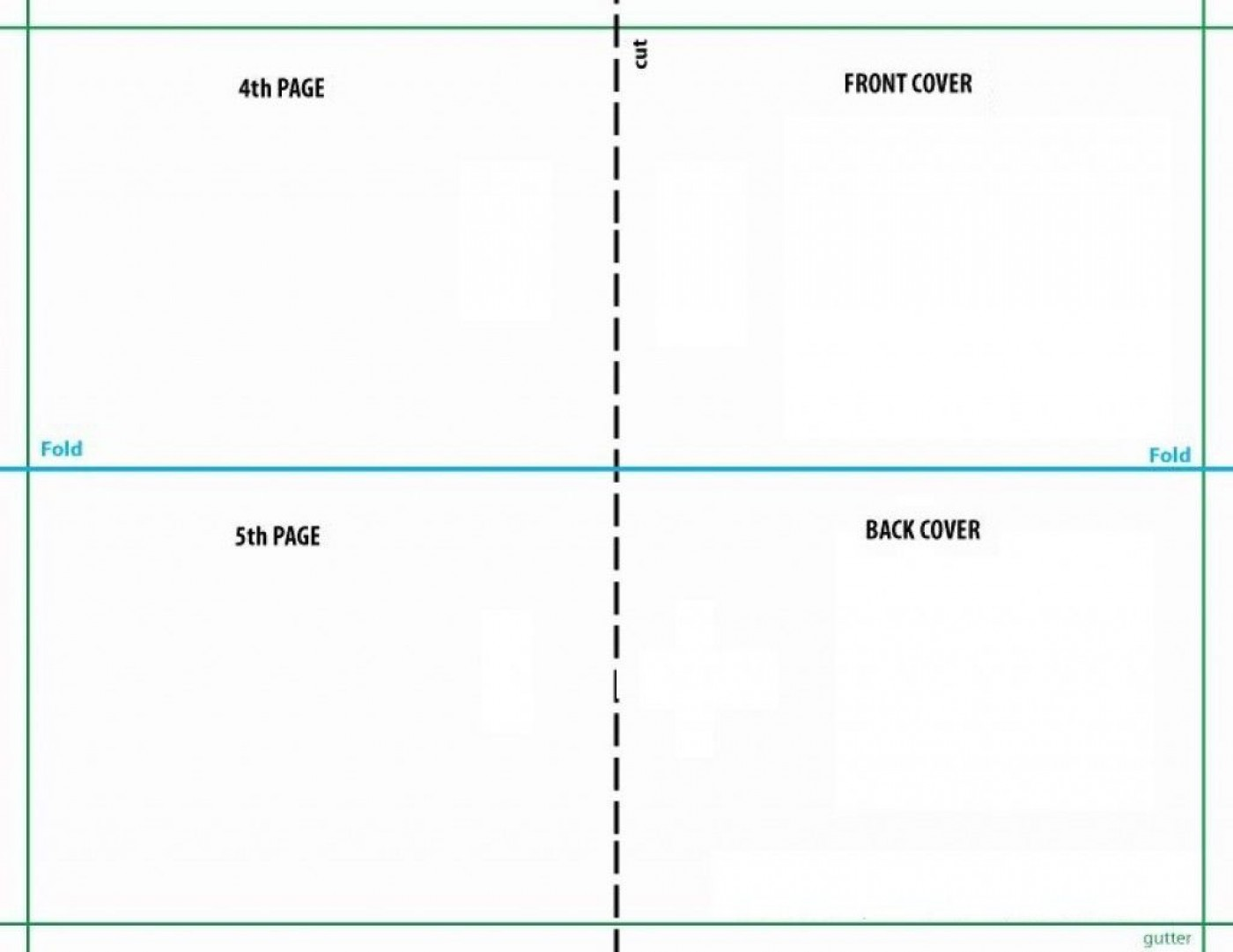 008 Unbelievable Quarter Fold Card Template Publisher Idea 1400