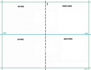 008 Unbelievable Quarter Fold Card Template Publisher Idea 320