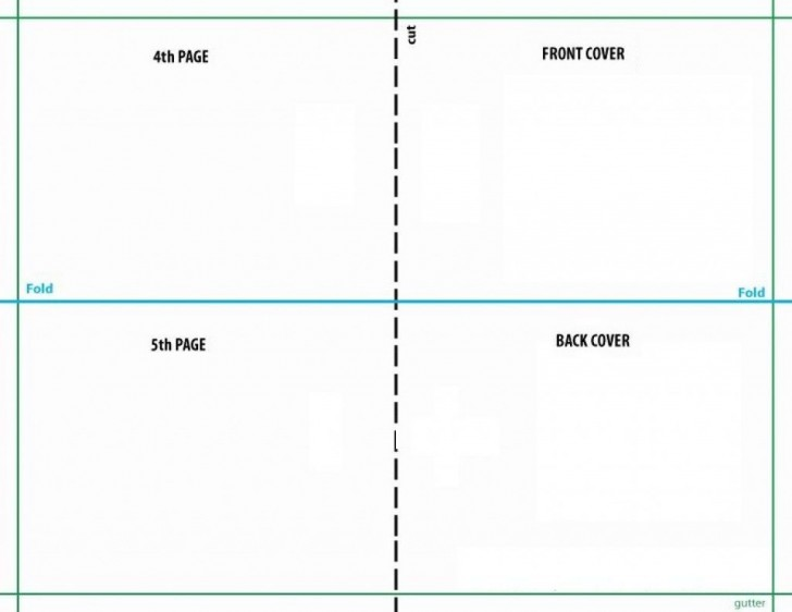008 Unbelievable Quarter Fold Card Template Publisher Idea 728