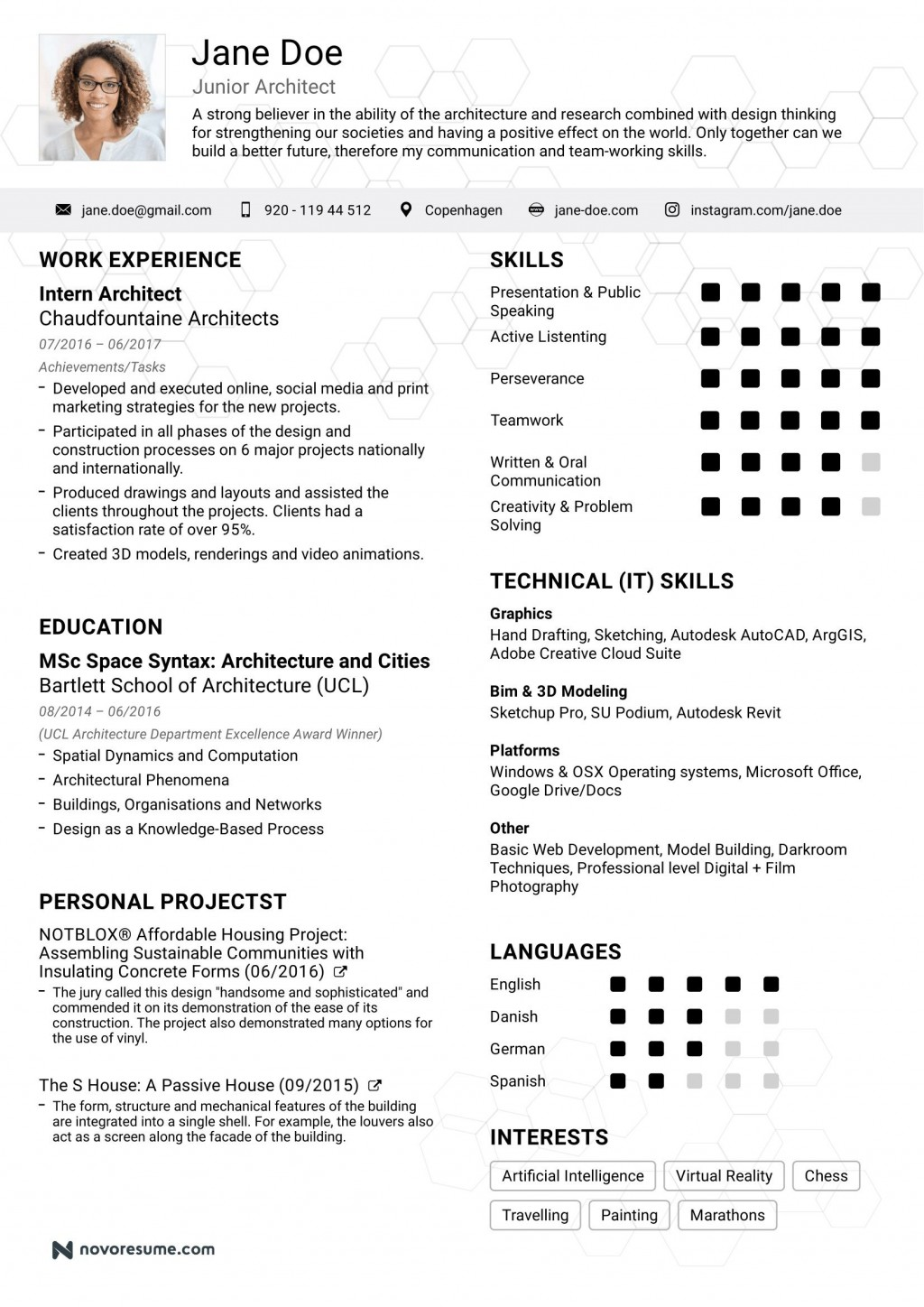 008 Unbelievable Simple Job Resume Template Photo  Templates Example DownloadLarge