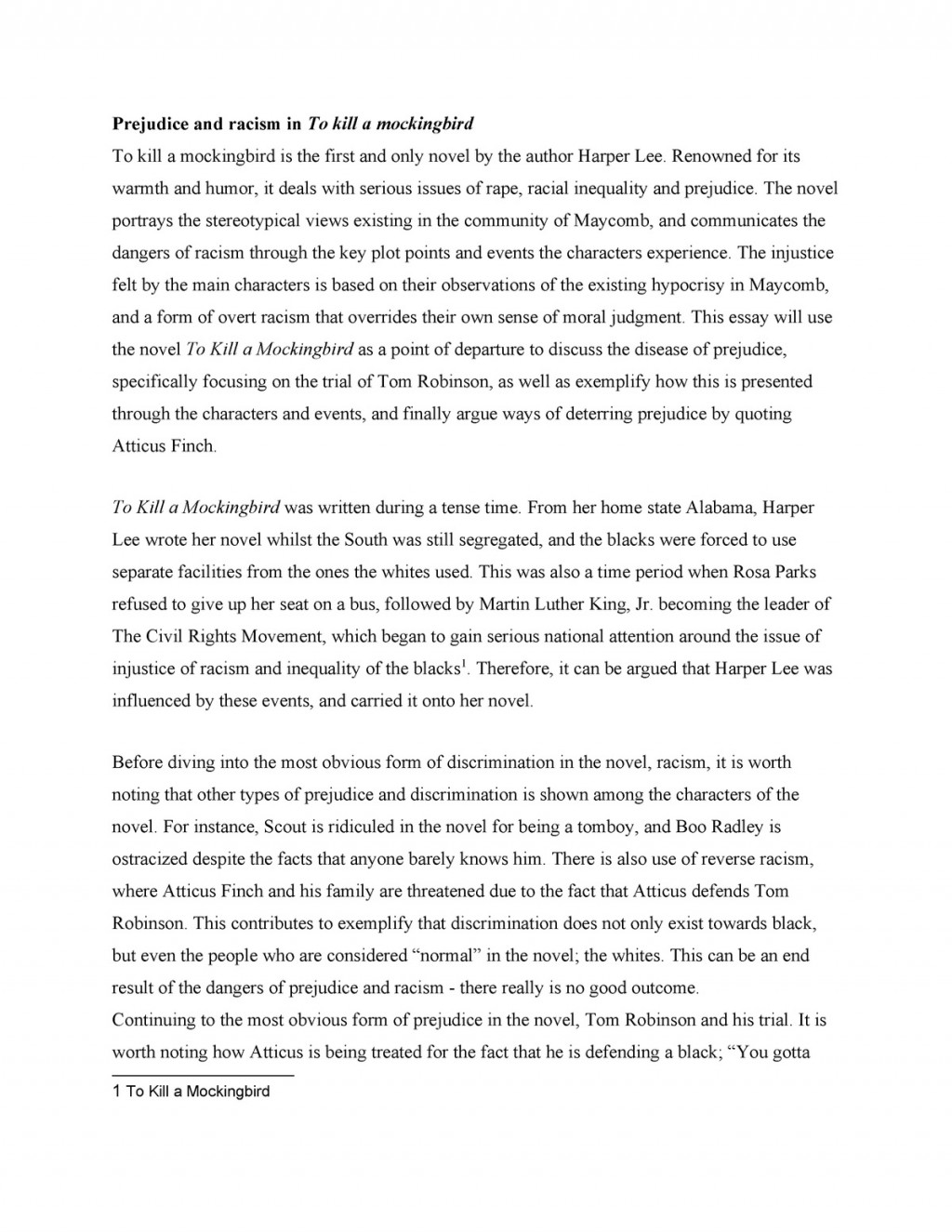 008 Unbelievable To Kill A Mockingbird Essay High Resolution  Question Courage Thesi PdfLarge