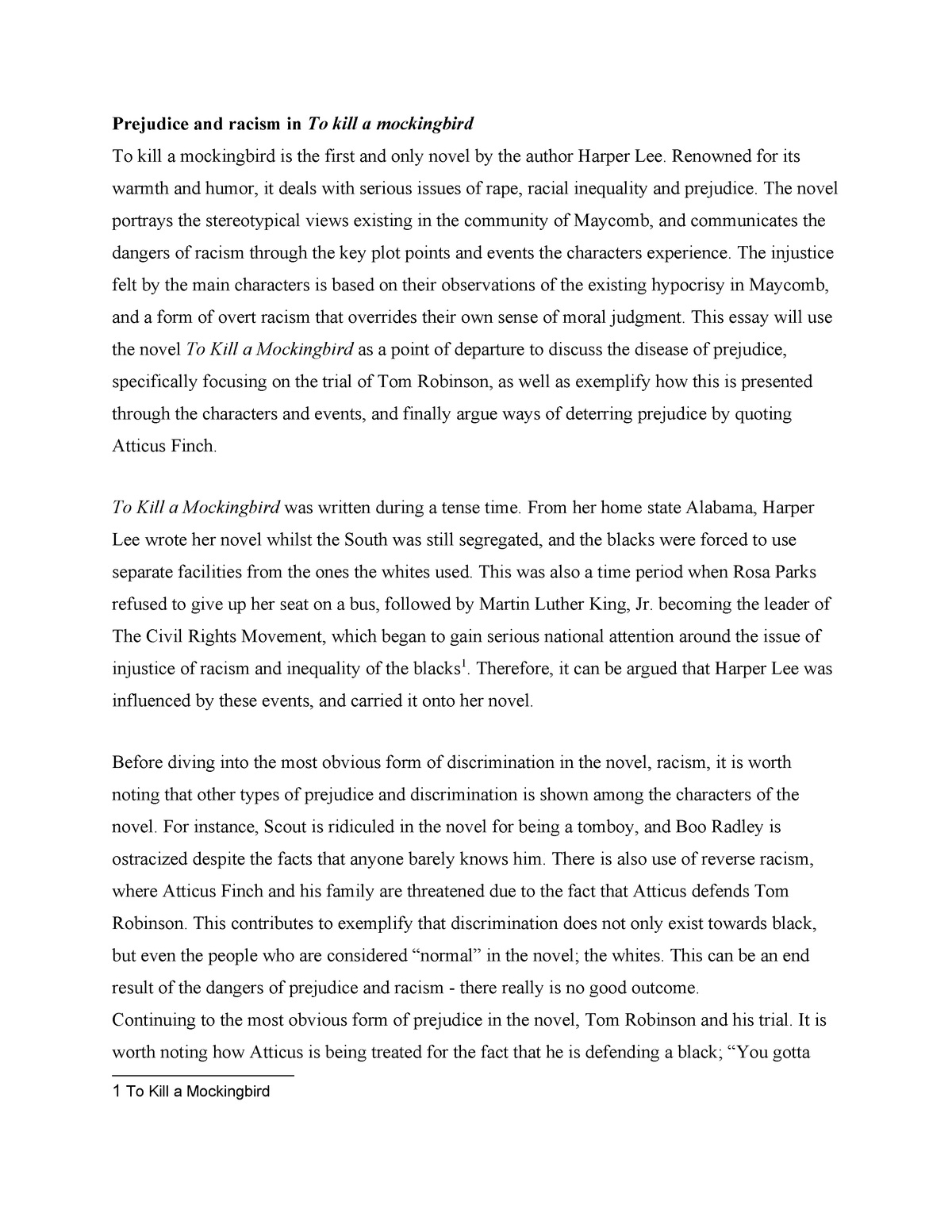 008 Unbelievable To Kill A Mockingbird Essay High Resolution  Question Courage Thesi PdfFull