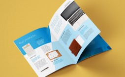 008 Unforgettable A4 Brochure Template Psd Free Download Photo  Tri Fold Bifold