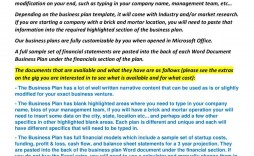 008 Unforgettable Busines Plan Format Microsoft Word Concept  Sample Template