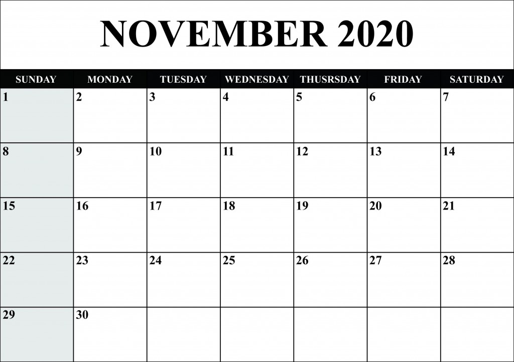 008 Unforgettable Calendar 2020 Template Word Sample  Monthly Doc Free DownloadLarge