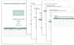 008 Unforgettable Change Management Proces Template Design