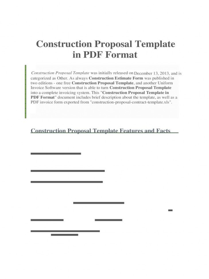 008 Unforgettable Construction Busines Form Template High Resolution 728
