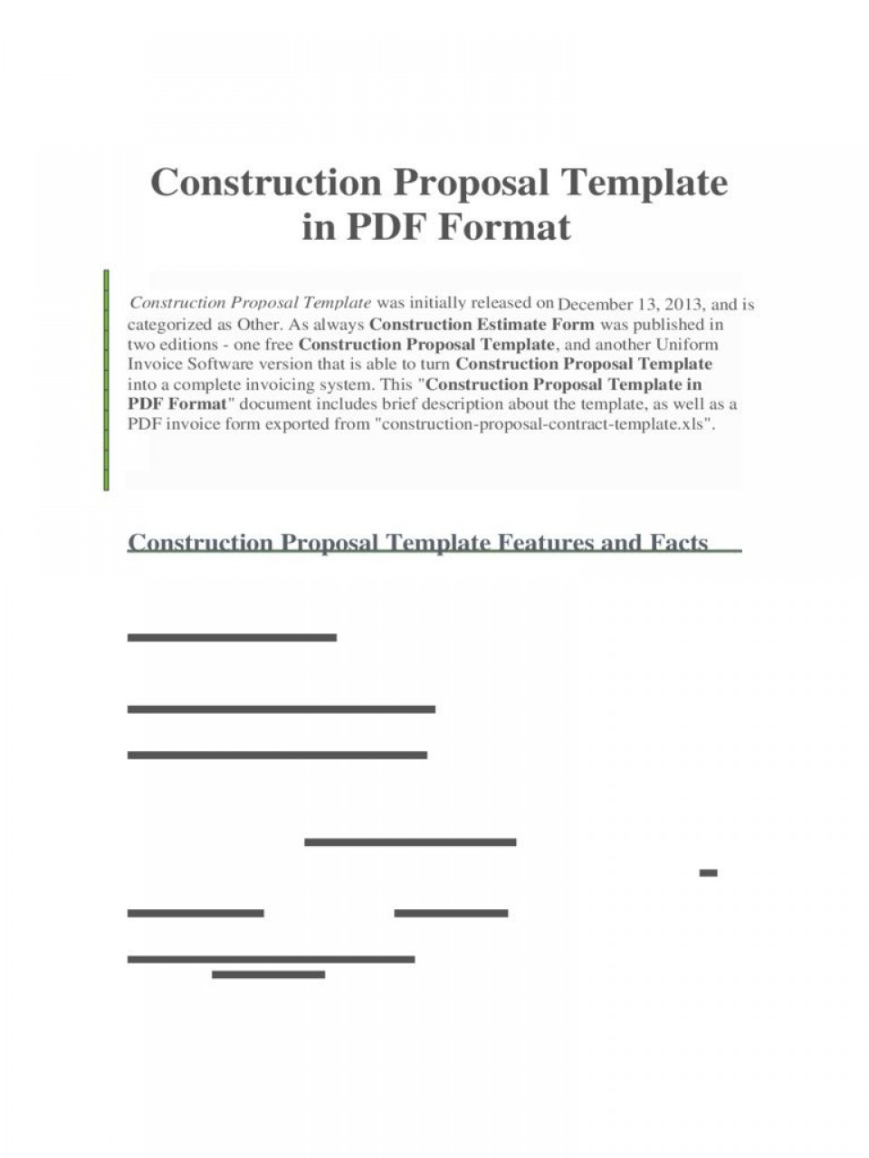 008 Unforgettable Construction Busines Form Template High Resolution 960