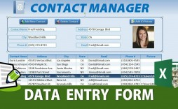 008 Unforgettable Excel Data Entry Form Template Idea  Example Download Free