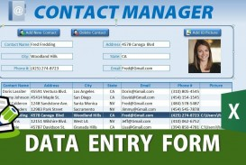 008 Unforgettable Excel Data Entry Form Template Idea  Free Download Example Pdf
