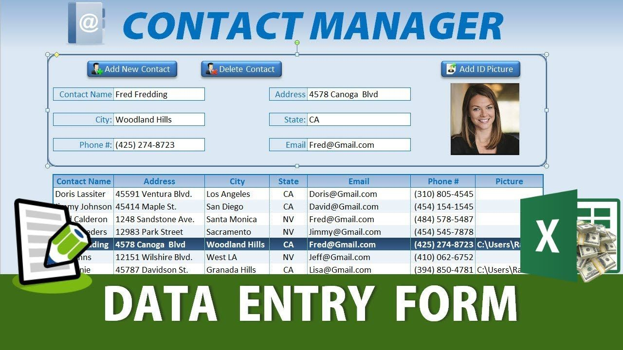 008 Unforgettable Excel Data Entry Form Template Idea  Example Download FreeFull