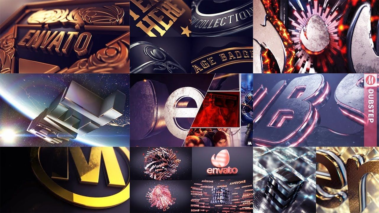 008 Unforgettable Free After Effect Template  3d Logo Animation Highest Quality - V2 DownloadFull