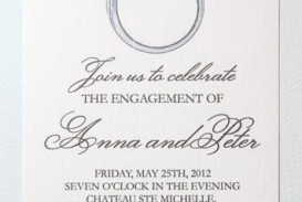 008 Unforgettable Free Engagement Invitation Template Online With Photo Highest Clarity