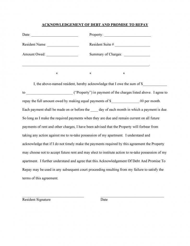008 Unforgettable Free Family Loan Agreement Template Nz Idea 728