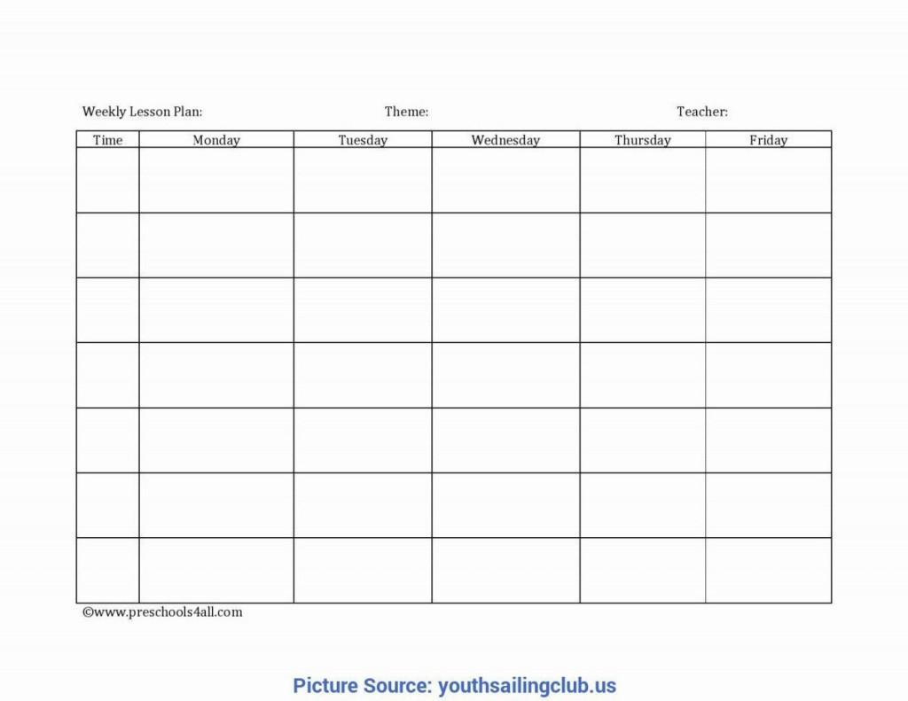 008 Unforgettable Free Printable Preschool Weekly Lesson Plan Template Photo  KindergartenLarge